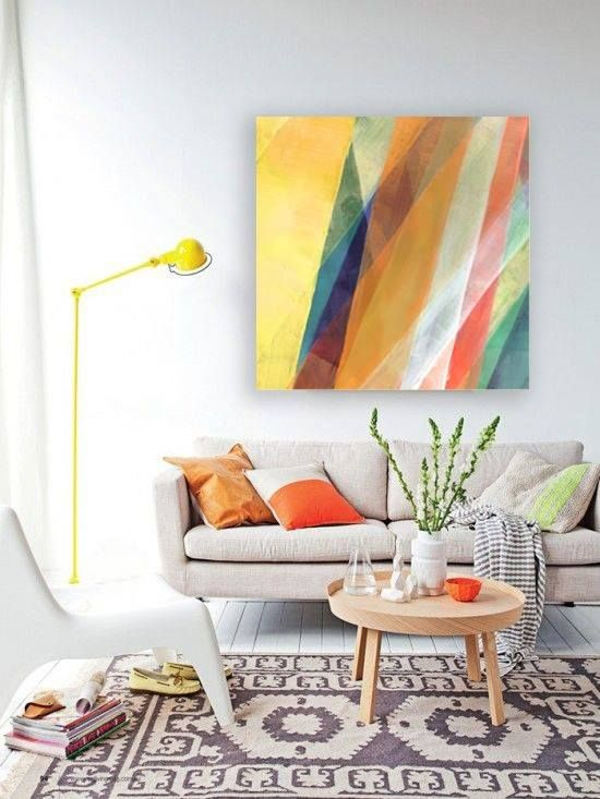 Yellow is the colour of sunshine commonly representing joy, happiness, intellect, and energy. This colour produces a warming effect & arouses cheerfulness. Get your yellow canvas print now at http://buff.ly/17LIHtK, a 76 x 76cm print will cost you $259.