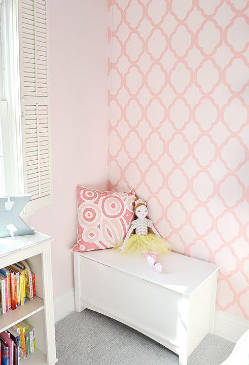 Kids Bedroom Stencils 320 best girl's room stencils & decor images on pinterest
