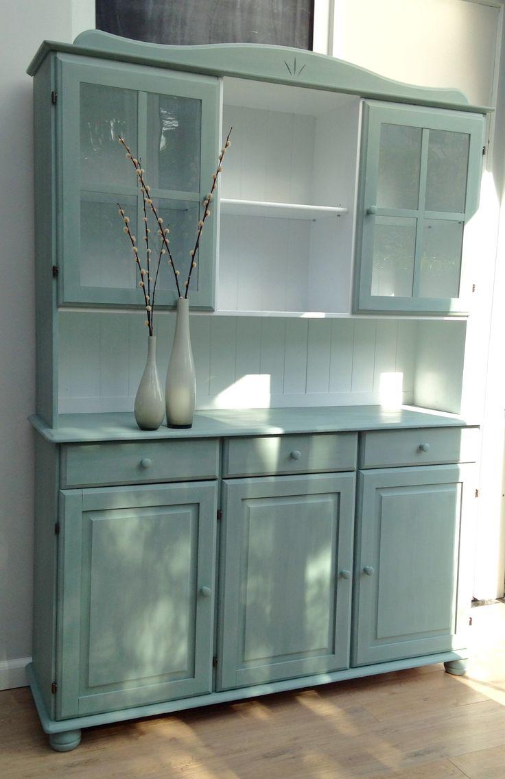 Buffetkast cabinet munt duck egg blue