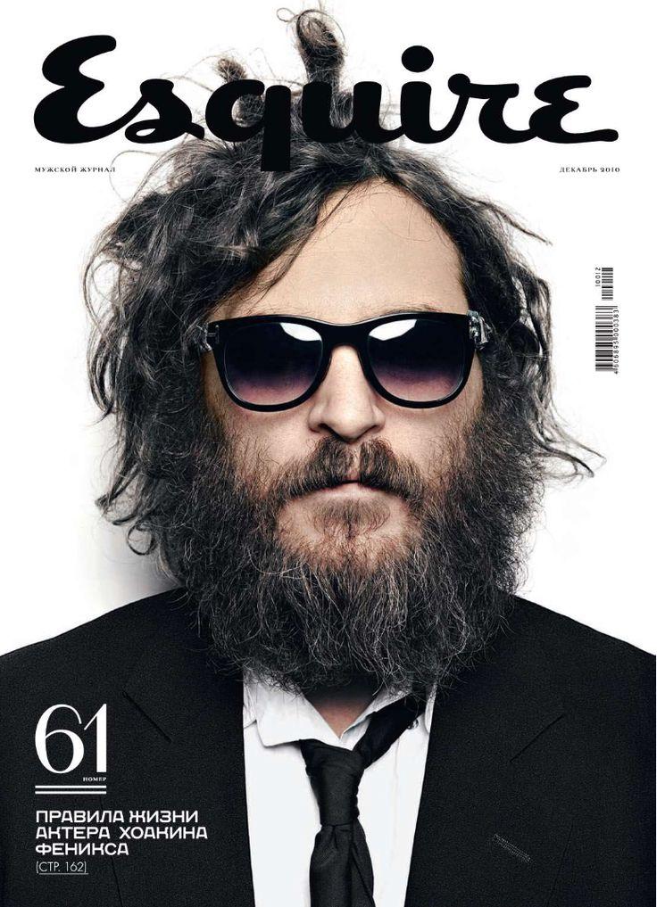 Esquire RussiaMagazines Design, Michael Muller, Russian Esquire, Joaquin Phoenix, Graphics Design, Esquire Russia, Esquire Magazines, Beards Boys, Magazines Covers
