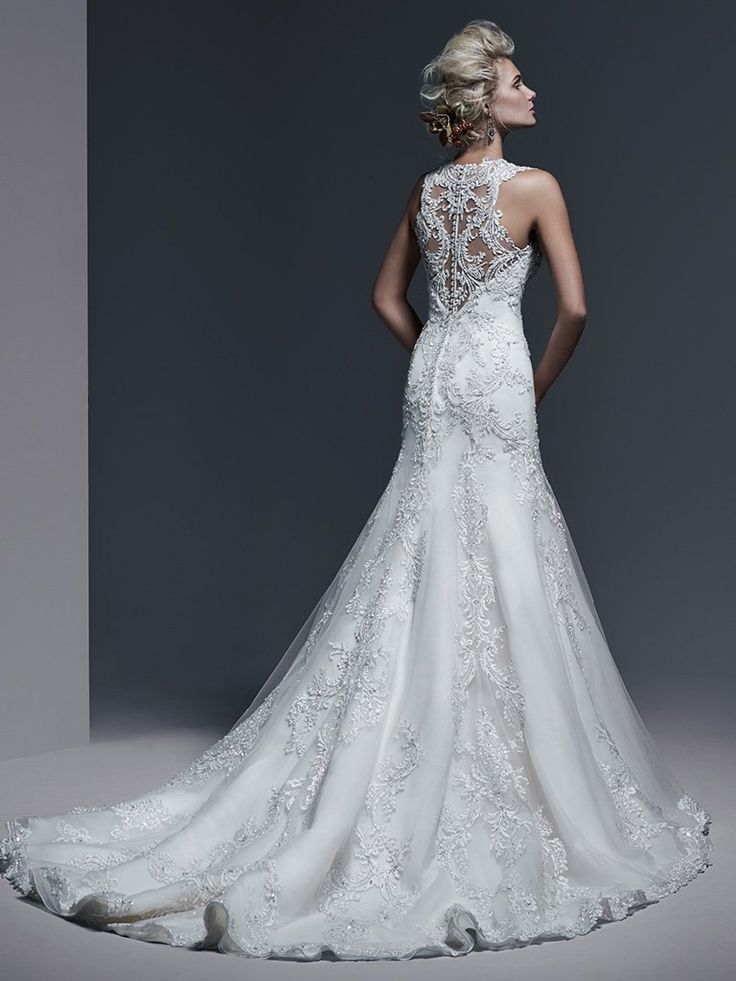 Monticella Wedding Dress by Maggie Sottero | back
