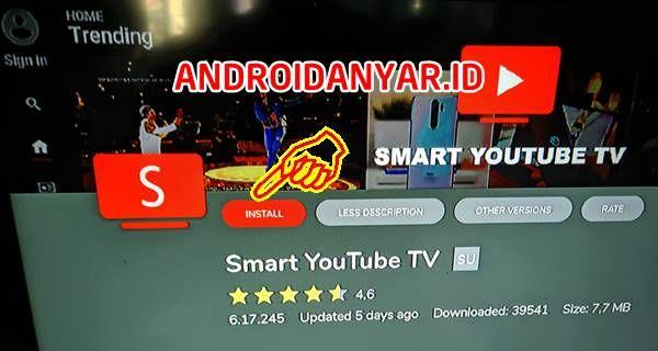 Cara Instal Smart Youtube Tv Stb Indihome Tanpa Root Unlock Youtube Remote Berlayar