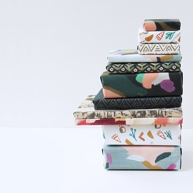 Last day to take 30% off our whole site with code FRIYAY30 / Tomorrow we'll be doing a surprise 1-day Cyber Monday sale...so today is the best day to stock up on wrap or stationery.