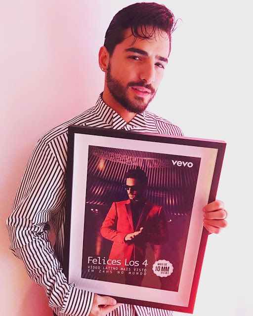 Maluma rompe récord en VEVO con el video de Felices los 4