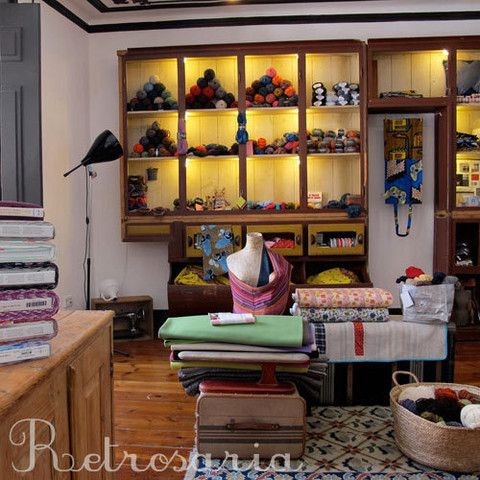 Rosa Pomar's lovely shop in Lisbon, Portugal.: Stores Design, Products