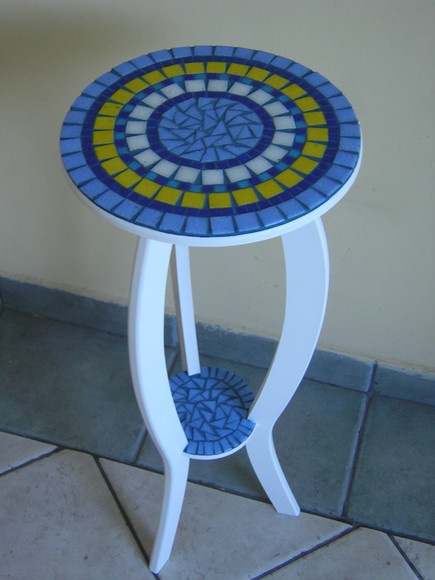 Make my own mosaic table