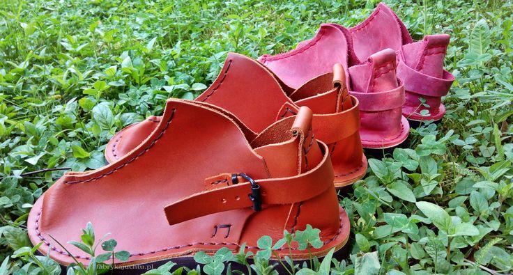 TREK Vagabond... cognac or just red?  What would you pick?  Try our medieval style https://www.etsy.com/listing/183084137/leather-shoes-trek-vagabond?ref=shop_home_active_8  #trek #handmade #vagabond #jucht #medieval #middleages #polska #poland