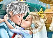 juego Elsa Wedding Kiss