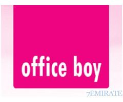 Urgently Required Office Boy for Advertising Company in Dubai