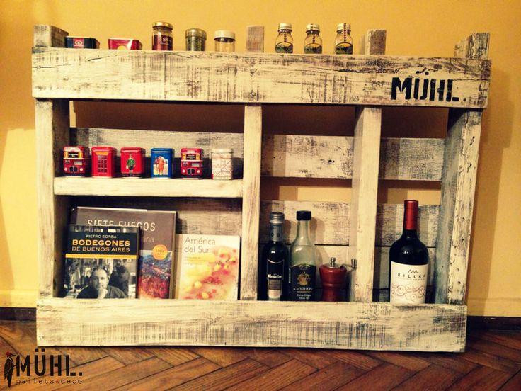 70 best images about muebles con pallets on pinterest - Estantes de cocina ...