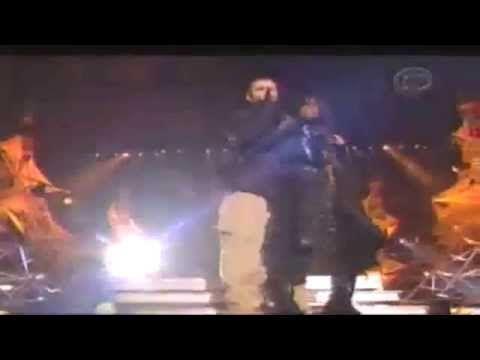 The Justin Timberlake & Janet Jackson Super Bowl XXXVIII halftime show c...