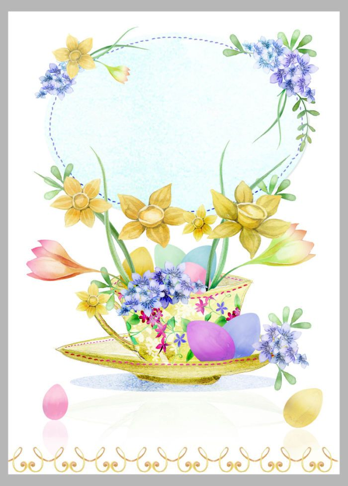 Victoria Nelson - Easter Teacup Copy | Victoria Nelson