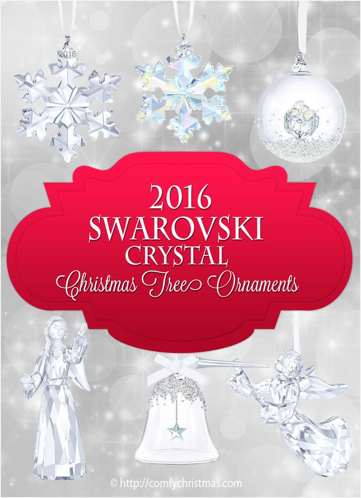 Absolutely stunning #collectible #2016 Annual #SwarovskiCrystal #ChristmasTreeOrnaments! If you're looking for an extra special #gift for a family member, close friend, or a co-worker, you won't go wrong with one of these Swarovski Crystal Christmas tree ornaments! http://comfychristmas.com/swarovski-crystal-christmas-tree-ornaments/