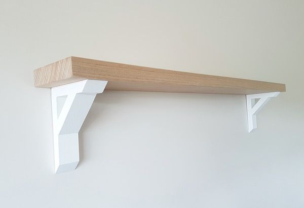Image of Medium Oak Scandi Shelf