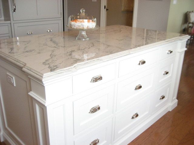 Calacatta Macaubus quartzite countertop - A Marble Countertop Lookalike, Minus the Maintenance