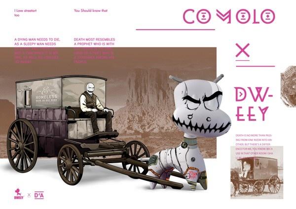 dweey by comolo , via Behance