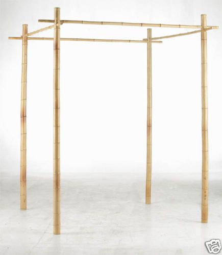 Make your own arbor, instead of buying or renting one. No tools required