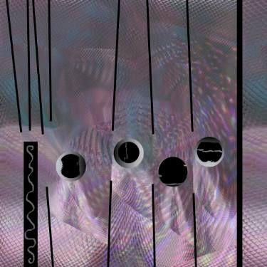 "Saatchi Art Artist Françoise Zia; New Media, ""Planet in stratum"" #art"