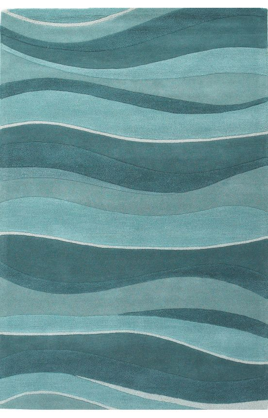 Ay Rugs Shire Contemporary Handmade Wool Eternity Landscapes Ocean Rug Cabina Pinterest Area And