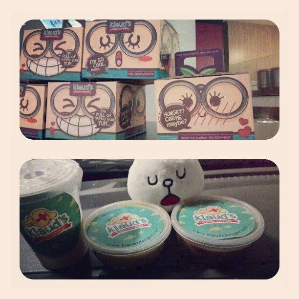 So yummy ♥ #pudding #soymilk #klaud's #nomnom - @cindynataliaf @ Instagram Web Interface - 5th village