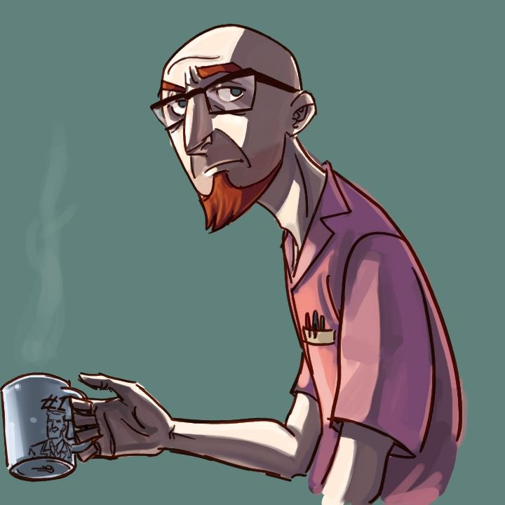 'After Daddy's coffee, Dean.' by ngoziu on DeviantArt