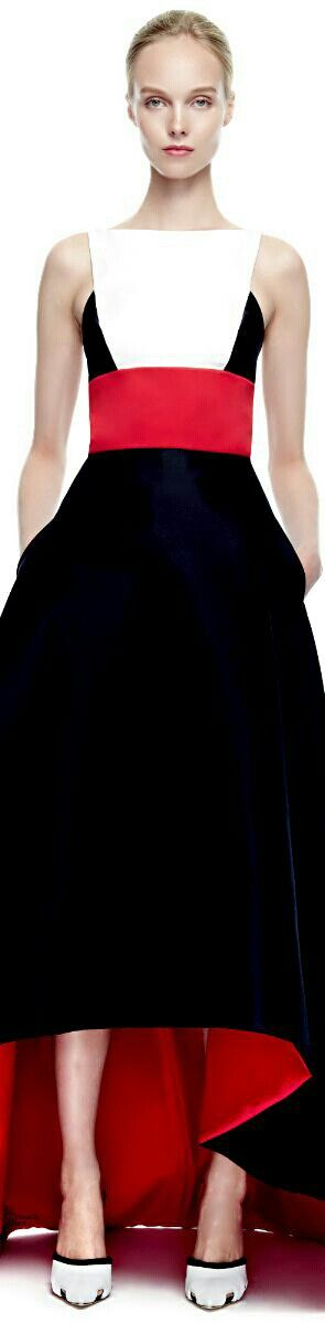 Prabal Gurung ● Resort 2014, Silk Full Skirt Gown