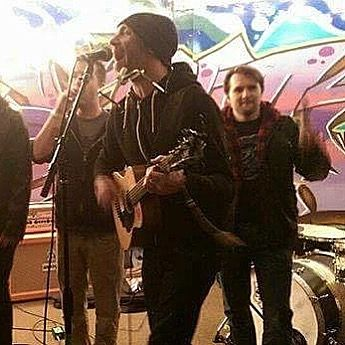 #TBT to the time we almost lost Nick to @orionwalshmusic  I mean coulda kept him if we didnt go on after the next 2 sets but were happy either way. - - - #OrionWalsh #Royal #royalskateshop #Lansing #tbt #alternative #rock #surf #grunge #punk #band #music #DIY #local #101WKQX #Chicago #NWI #Whiting #Hammond #Indiana #SupportLocalMusic