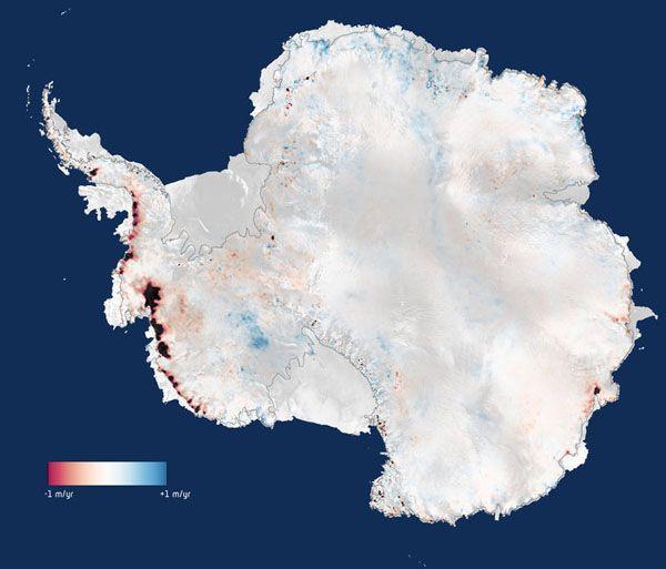 """¿NASA Vs. IPCC?: """"Nieve de la Antártida compensa su preocupante pérdida de hielo"""":"""