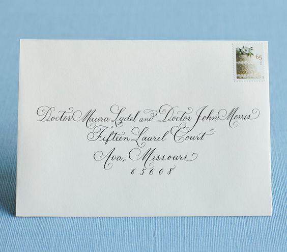 Addressing Wedding Invitations: Best 25+ Addressing Wedding Invitations Ideas On Pinterest
