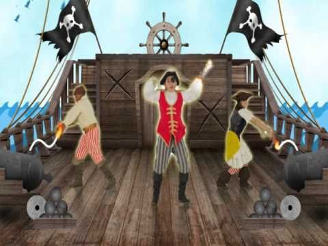 Just Dance Kids 2014 - A Pirate You Shall Be - YouTube