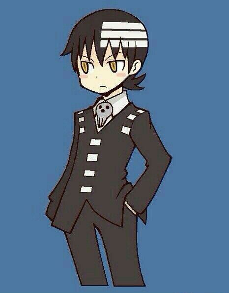 Death the Kid, cute, chibi; Soul Eater