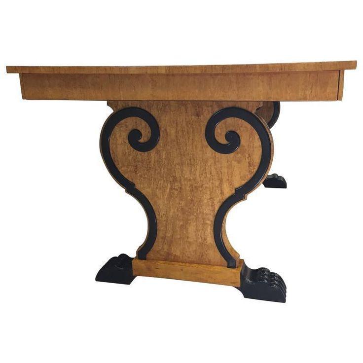 Austrian Biedermeier Extension Dining Table on Chairish.com