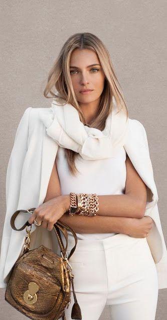 Designer fashion | White Ralph Lauren outfit