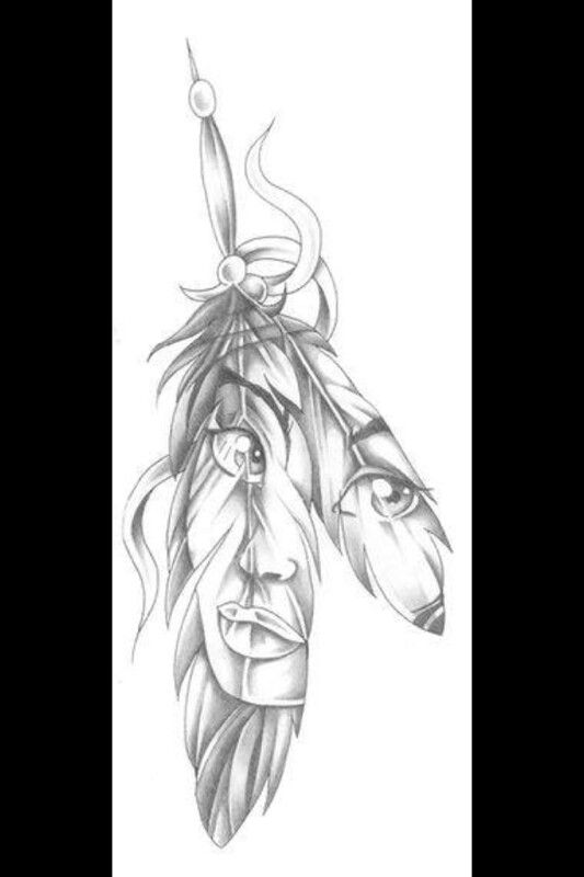 Nativo Americanos Para Colorear Dibujos