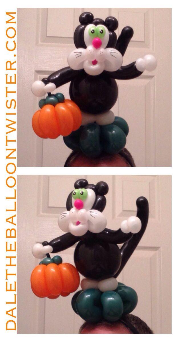 balloon bouquet - Halloween Balloon Animals