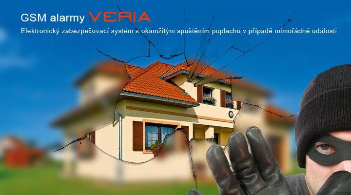 GSM domovní alarm je nepostradatelným zabezečovacím prvkem pro Váš domov, byt, dům, sklad, chalupu ...