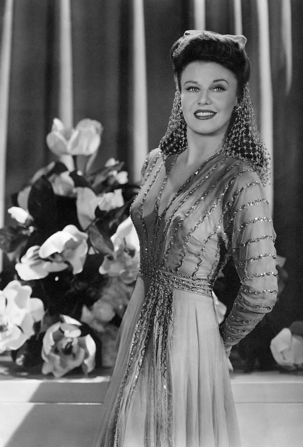 """Ginger Rogers in """"The Major and the Minor"""" with a snood."""