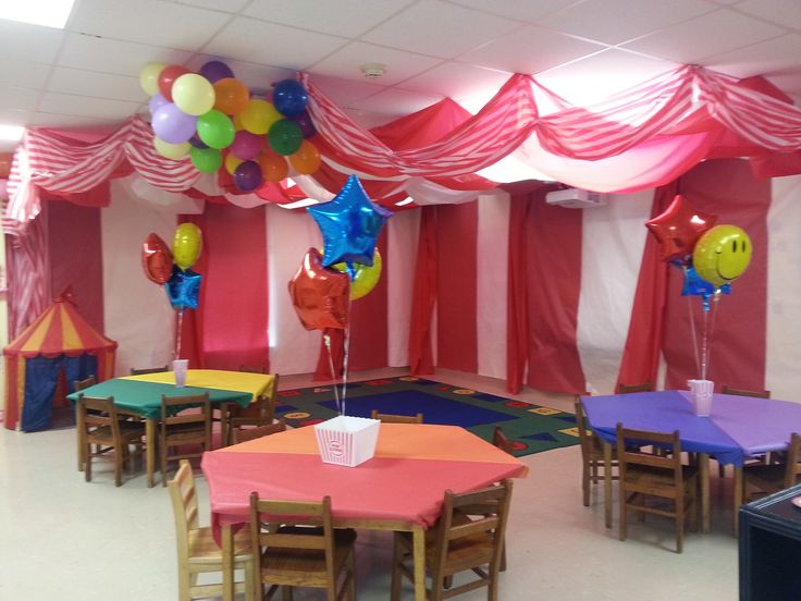 Nursery Classroom Decor : Circus theme preschool classroom summer camp