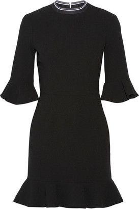 Rebecca Vallance Billie Ruffled Stretch-crepe Mini Dress