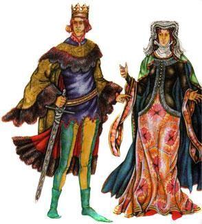 Костюм средневековой европы 17 века
