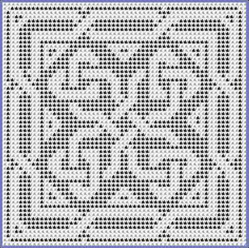 Ravelry: Triangles and Hearts Chart pattern by Michelle Ryan