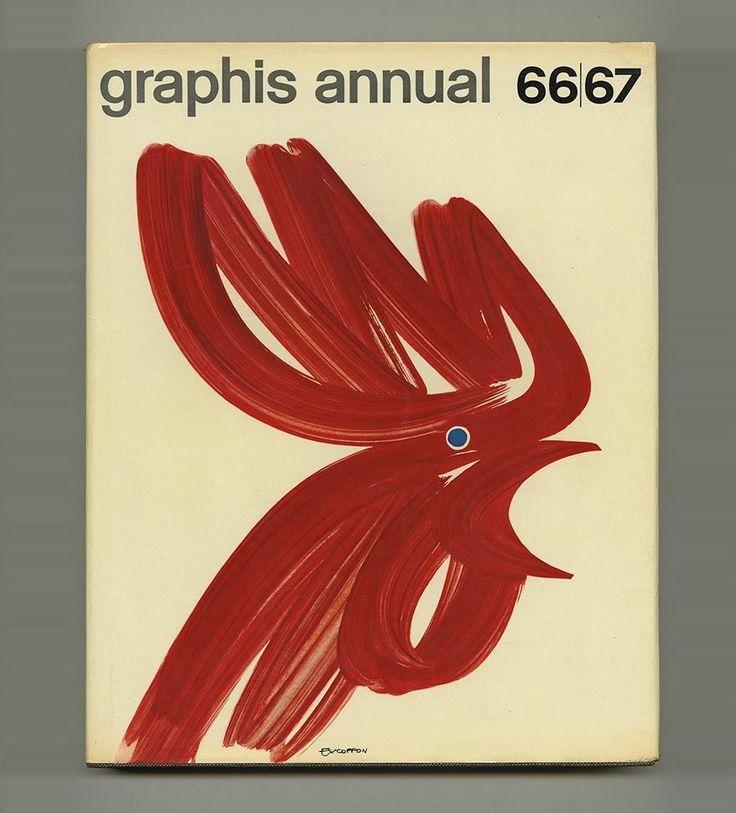 1966 Saul Bass GRAPHIS ANNL Paul RAND  Crosby/Fletcher/ Forbes/Gill Herb LUBALIN