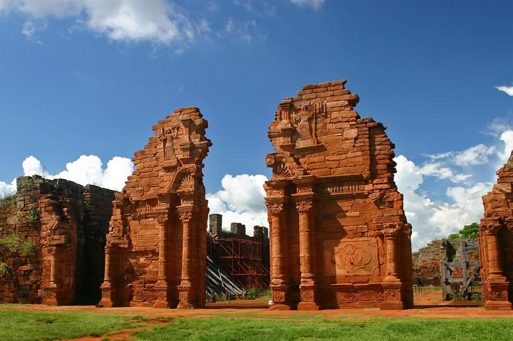 Ruinas de San Ignacio, Argentina