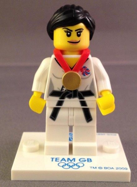 2012 Olympics Team GB Judo LEGO Minifigure