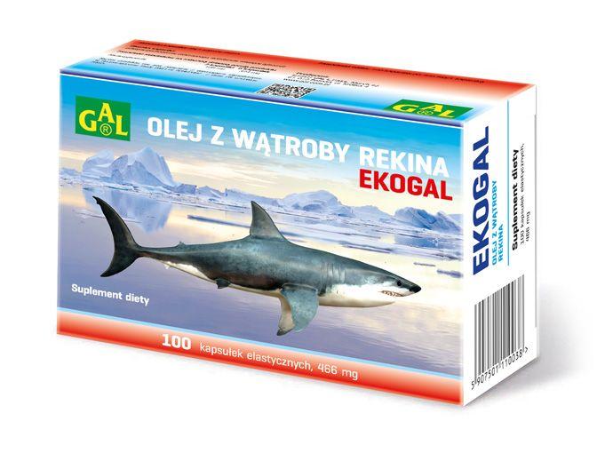 EKOGAL // Zawiera olej z rekina grenlandzkiego. Korzystnie wpływa na układ immunologiczny. Zalecany w okresie przesilenia organizmu, nadmiernego zmęczenia. http://www.gal.com.pl/produkty/suplementy-diety/ekogal.html