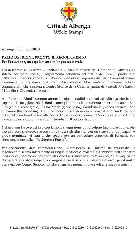 fotografie e altro...: Albenga (Savona) il 1^ Palio - 2010 - vincitore il...