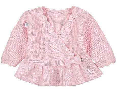 Absorba Baby Girls Cross Over Cardigan, Pink - Dandy Lions Boutique