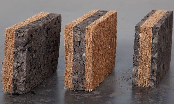 Corkoco - building insulation from natural materials cork+coconut