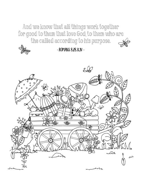 FREE PRINTABLE Christian Coloring Sheets With Bible Verses A New Sheet Is Posted Every