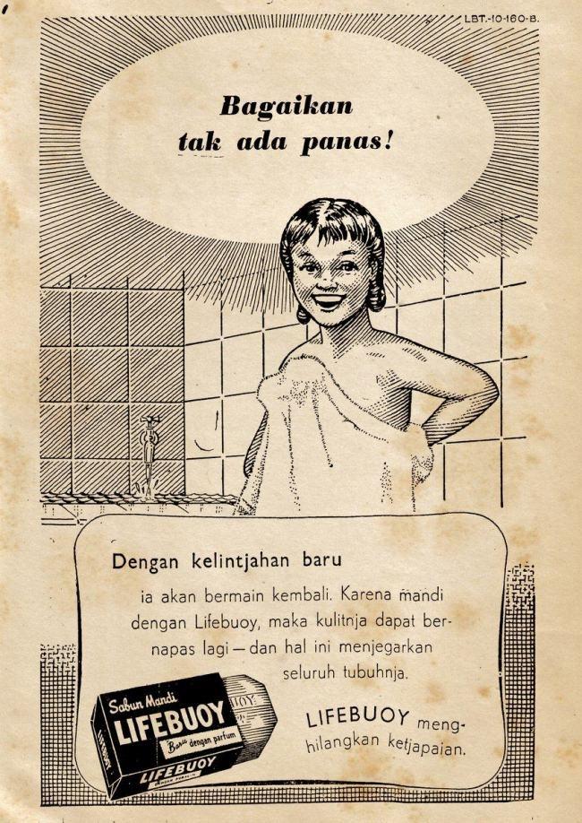 iklan Lifebuoy tahun 50an